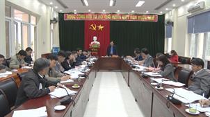 Phó Chủ tịch UBND tỉnh Nguyễn Trung Thảo làm việc với huyện Quảng Hòa
