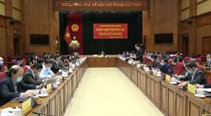 UBND tỉnh: Phiên họp thường kỳ tháng 2/2021