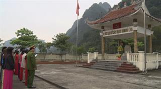 Quảng Hòa: Dâng hoa tại Khu di tích lịch sử cách mạng Đông Bó Lình