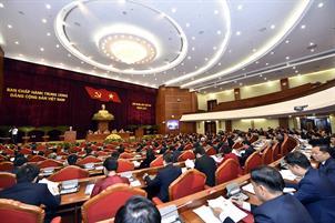 Nội dung ngày làm việc thứ nhất Hội nghị Trung ương 2