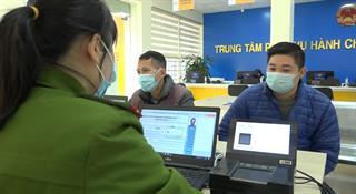 Cấp thẻ CCCD tại Trung tâm phục vụ hành chính công tỉnh