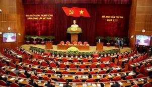 Bế mạc Hội nghị lần thứ hai, Ban Chấp hành Trung ương Đảng khoá XIII