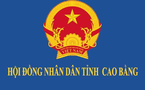 Hội đồng nhân dân tỉnh Cao Bằng khóa XVI  sẽ tổ chức tổng kết nhiệm kỳ vào ngày 19/3