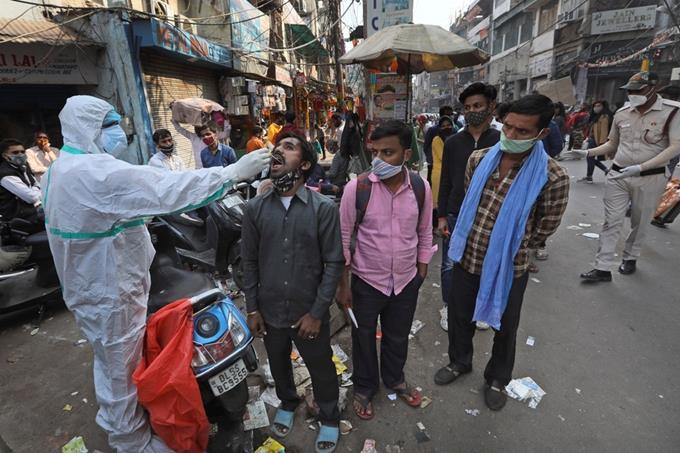 Ấn Độ có thêm 115.269 ca nhiễm COVID-19 trong một ngày