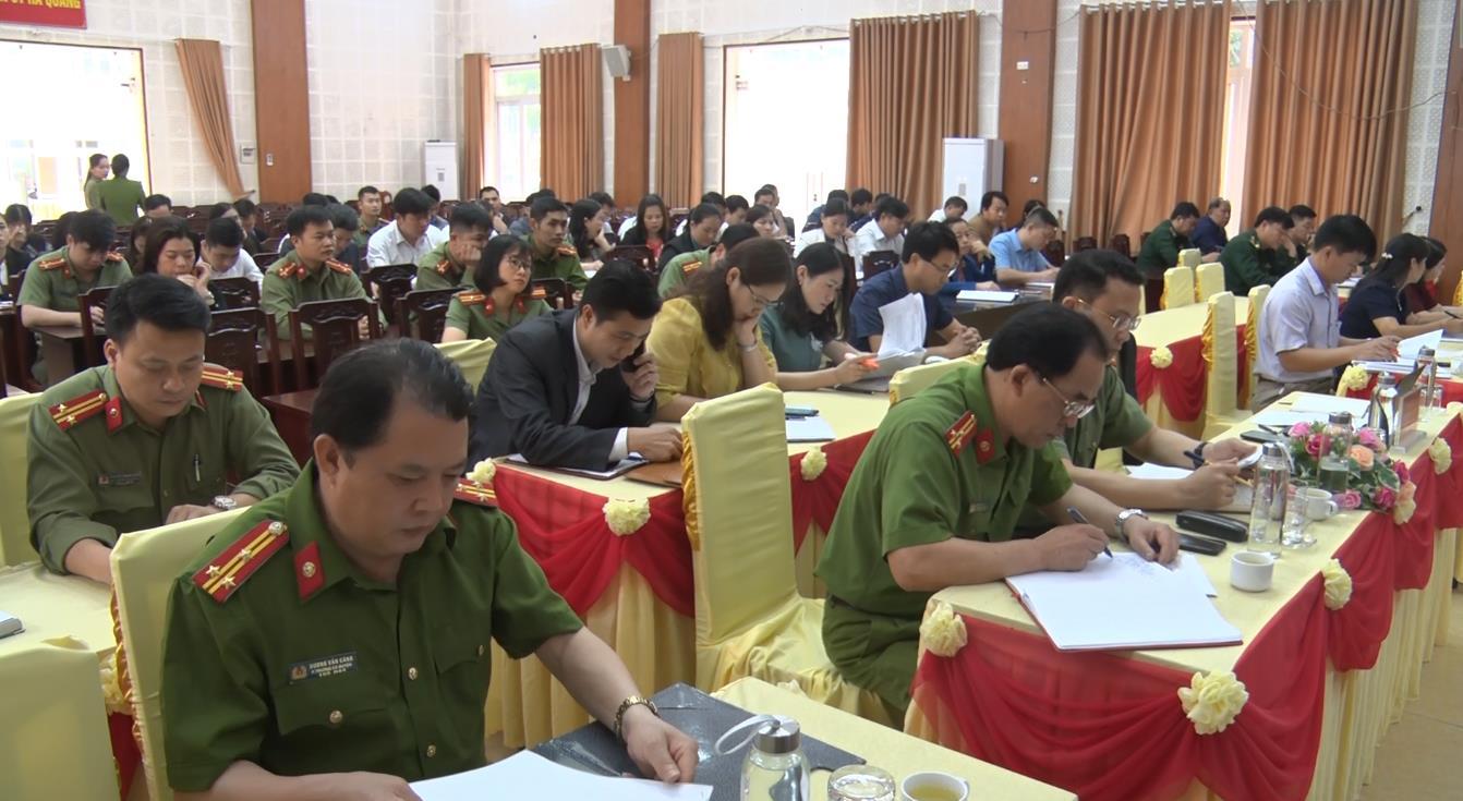 """Hà Quảng: Triển khai công tác xây dựng phong trào """"Toàn dân bảo vệ an ninh Tổ quốc"""" năm 2021"""
