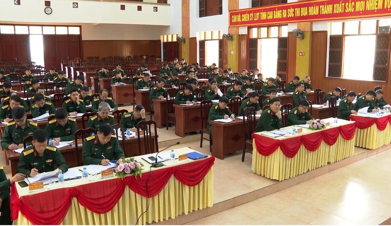 Bộ CHQS tỉnh: Rút kinh nghiệm tháng đầu huấn luyện năm 2021