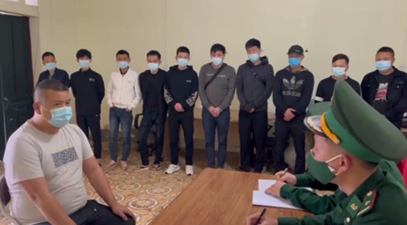 Phát hiện, bắt giữ 11 người Trung Quốc nhập cảnh trái phép vào Việt Nam