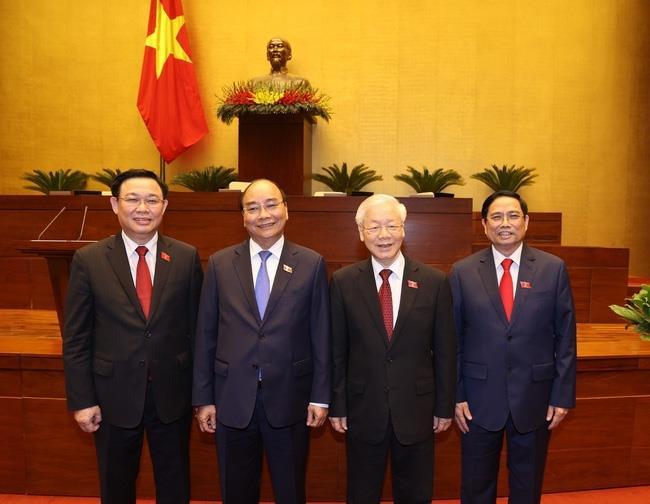Thư, Điện chúc mừng Lãnh đạo cấp cao Việt Nam