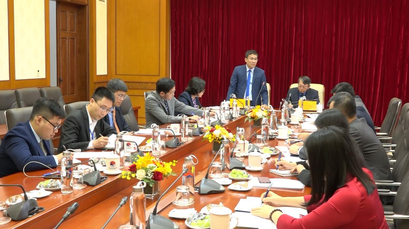 Đoàn công tác Bộ Ngoại giao làm việc với tỉnh Cao Bằng