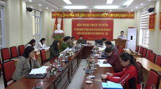 Thạch An: Tập huấn nghiệp vụ công tác bầu cử ĐBQH khóa XV và bầu cử đại biểu HĐND các cấp nhiệm kỳ 2021 - 2026