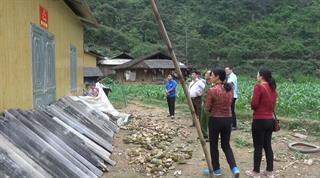 Hà Quảng: Kiểm tra việc thực hiện chương trình hỗ trợ xây dựng nhà ở cho hộ nghèo