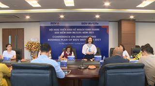 BIDV Cao Bằng: Triển khai kế hoạch kinh doanh bảo hiểm MetLife