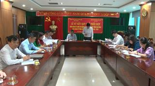 Đảng ủy Khối Cơ quan và Doanh nghiệp tỉnh Cao Bằng và Tổng Công ty khoáng sản TKV-CTCP ký kết quy chế phối hợp