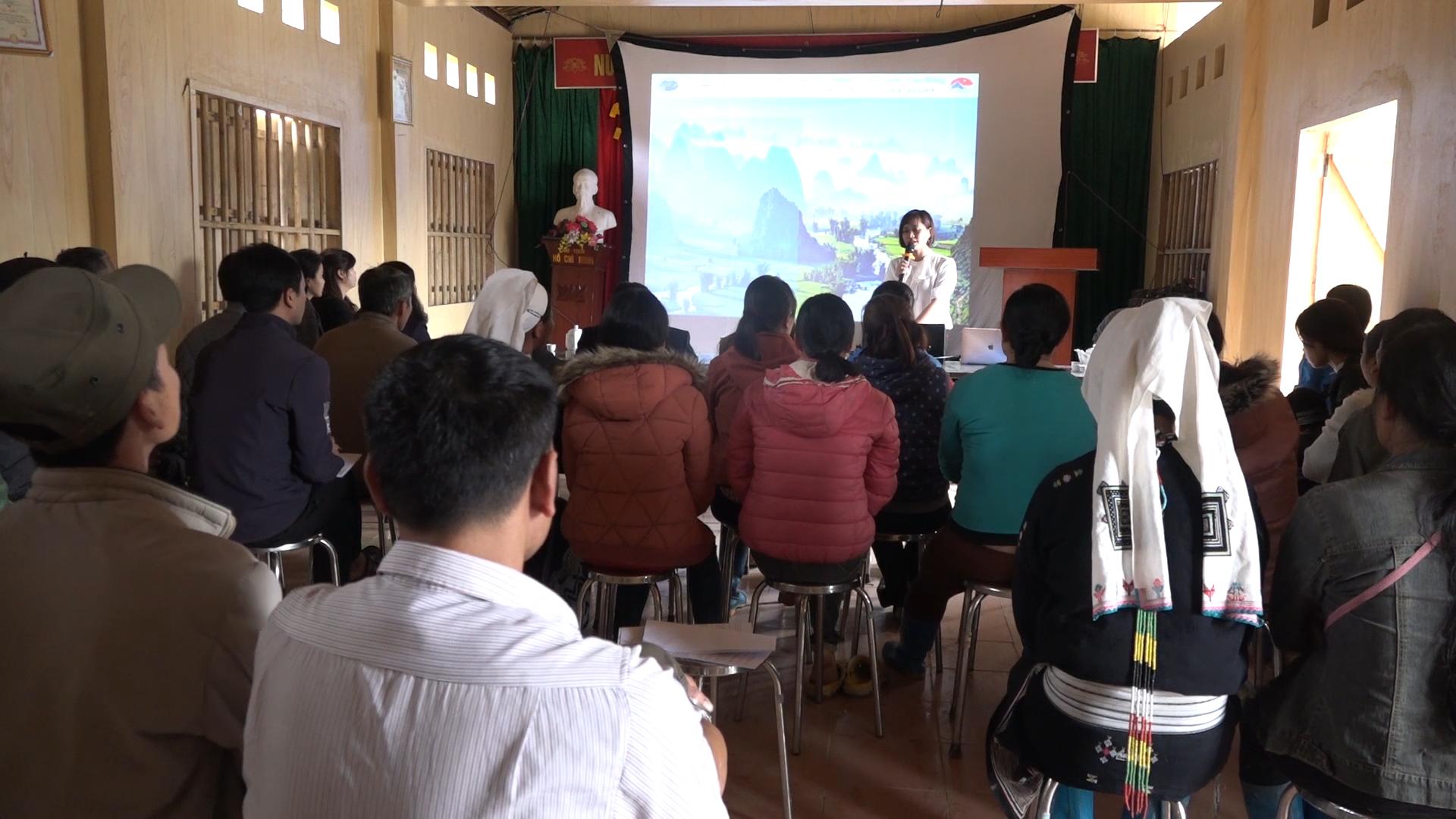 Sở Văn hóa Thể thao và Du lịch tổ chức tập huấn du lịch cộng đồng tại xóm Hoài Khao