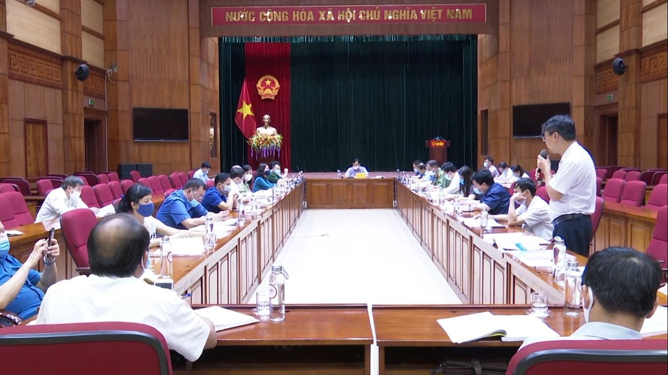 UBND tỉnh họp bỏ phiếu đề nghị xét, công nhận thành phố Cao Bằng hoàn thành nhiệm vụ xây dựng nông thôn mới