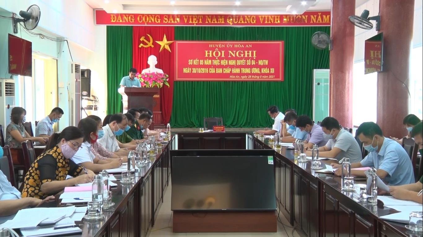 Sơ kết 5 năm thực hiện Nghị quyết Trung ương 4 khóa XII của Bộ chính trị