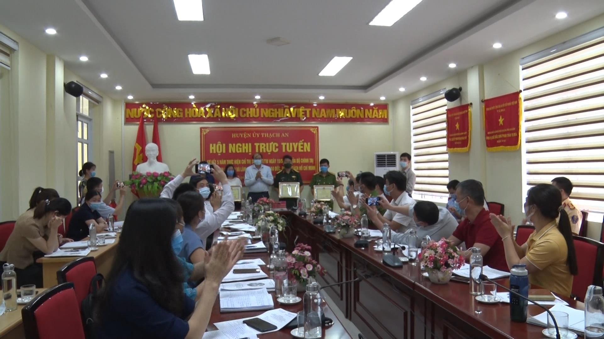 Thạch An: Sơ kết 5 năm thực hiện Chỉ thị 05 - CT/TW về đẩy mạnh học tập và làm theo tư tưởng, đạo đức, phong cách Hồ Chí Minh