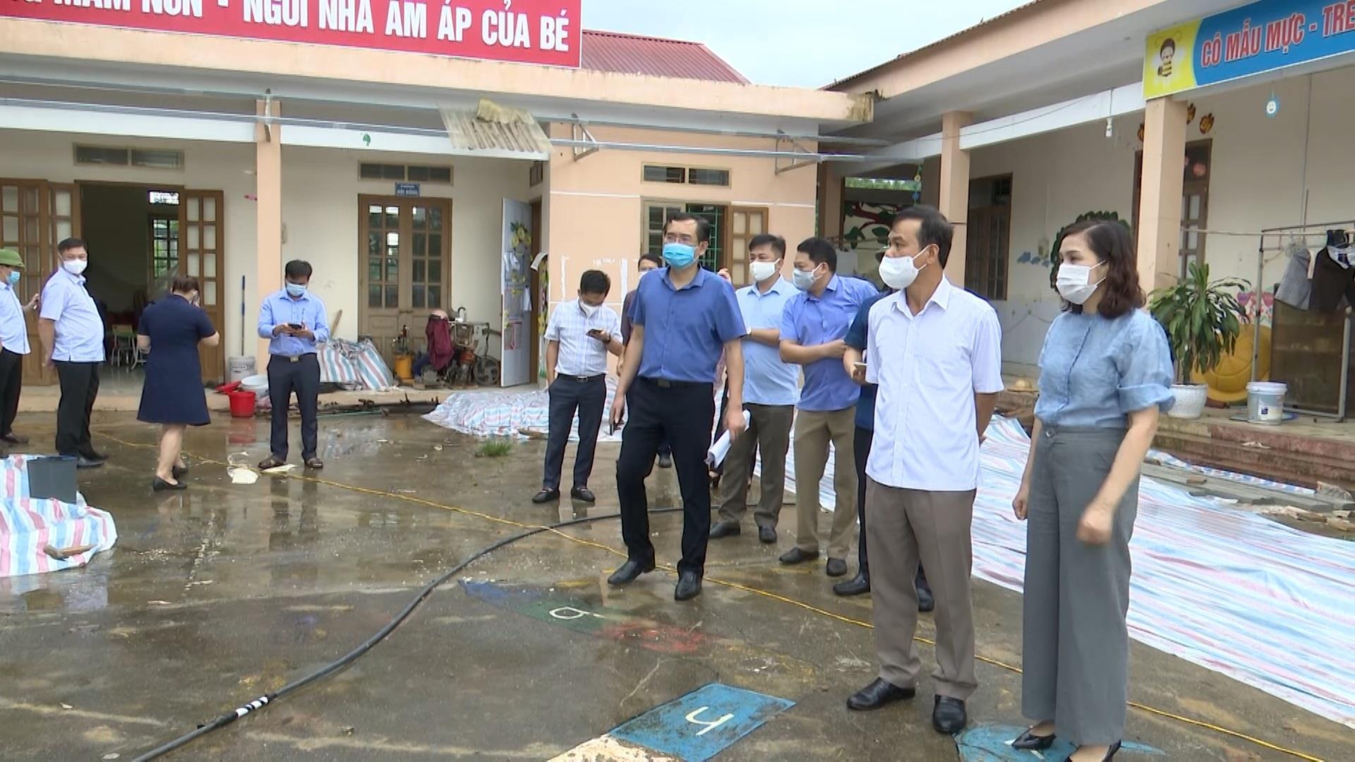 Hòa An: Phó Chủ tịch UBND tỉnh Nguyễn Trung Thảo kiểm tra tiến độ xây dựng nông thôn mới tại xã Hồng Việt