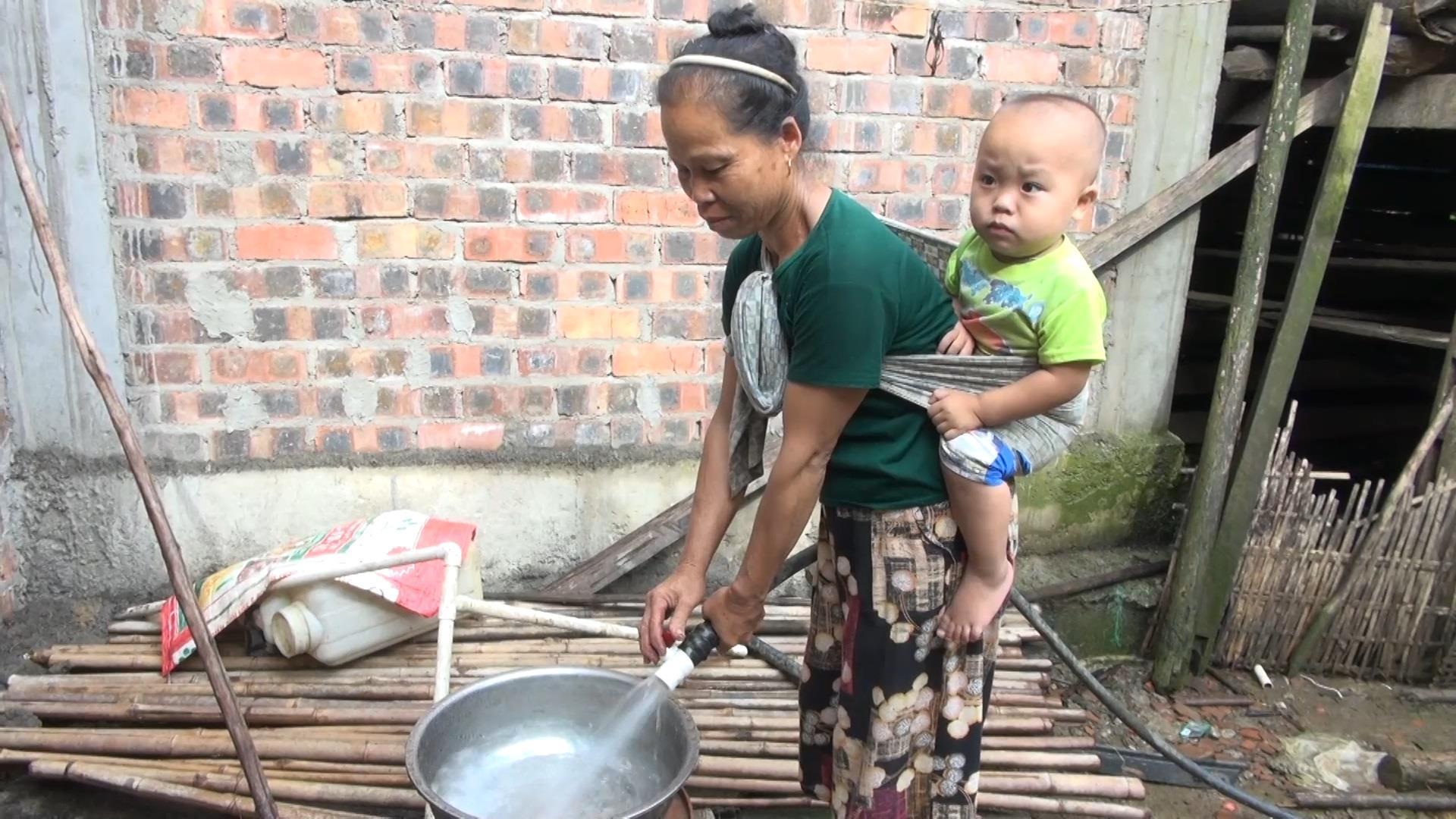 100% hộ dân xã Thị Hoa được sử dụng nước hợp vệ sinh
