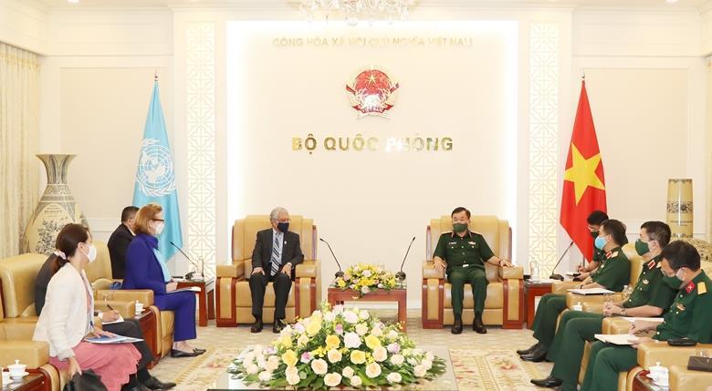 Thúc đẩy hợp tác Bộ Quốc phòng với các cơ quan Liên hợp quốc