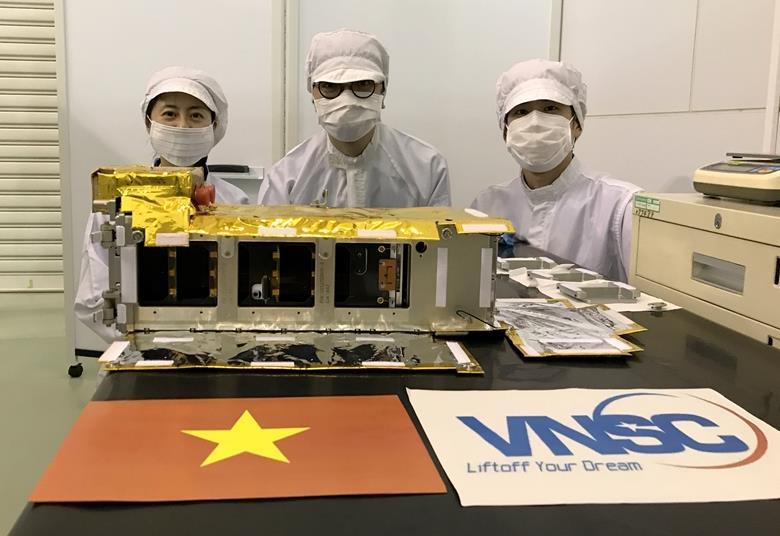 Vệ tinh NanoDragon của Việt Nam sẽ được phóng vào ngày 01/10/2021