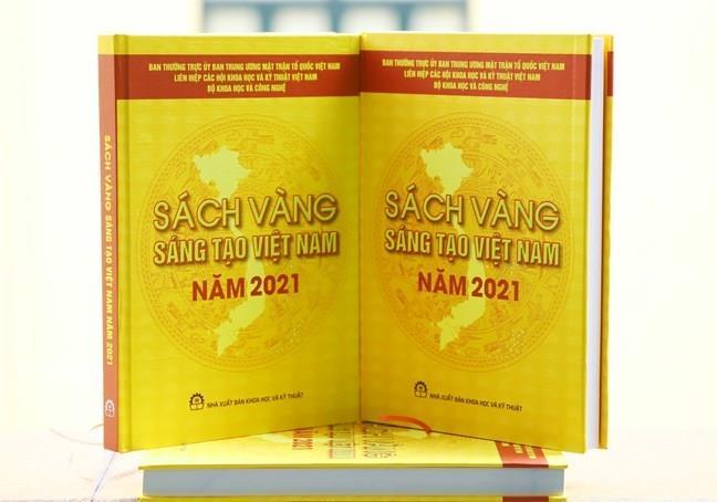 Sách vàng Sáng tạo Việt Nam năm 2021 vinh danh 76 công trình, giải pháp tiêu biểu