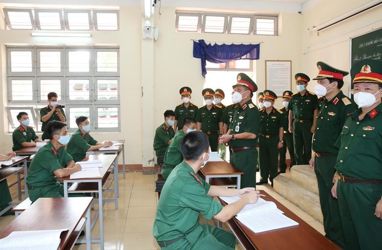 Trường Sĩ quan Kỹ thuật Quân sự: Đảm bảo chất lượng giáo dục trong điều kiện dịch bệnh
