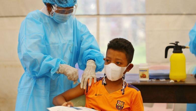 Campuchia triển khai tiêm chủng cho trẻ từ 6 đến 11 tuổi