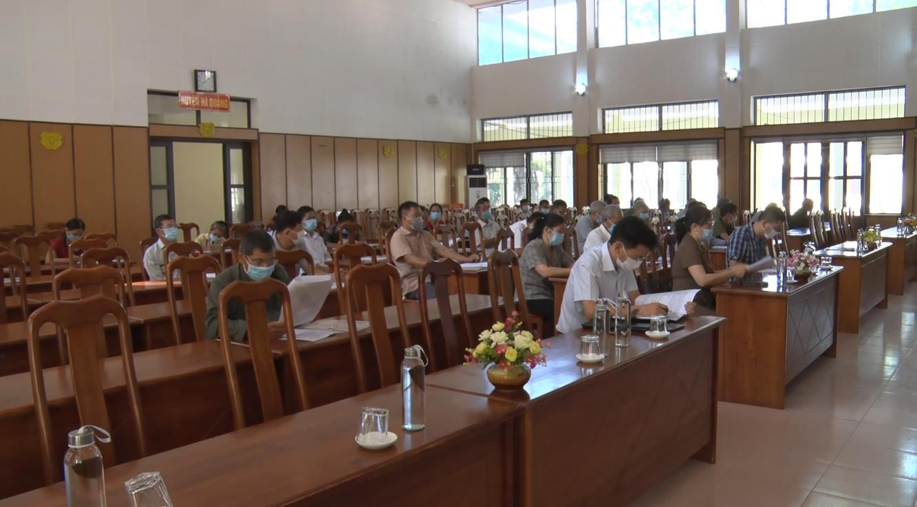 Hà Quảng: Hội nghị cung cấp thông tin cho người có uy tín trong đồng bào dân tộc thiểu số