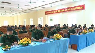 BĐBP tỉnh: Bế mạc huấn luyện khung B dự bị động viên năm 2021
