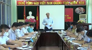 Thường trực HĐND tỉnh làm việc với Sở Nội vụ, Sở Tài chính về việc sắp xếp, sáp nhập đơn vị hành chính