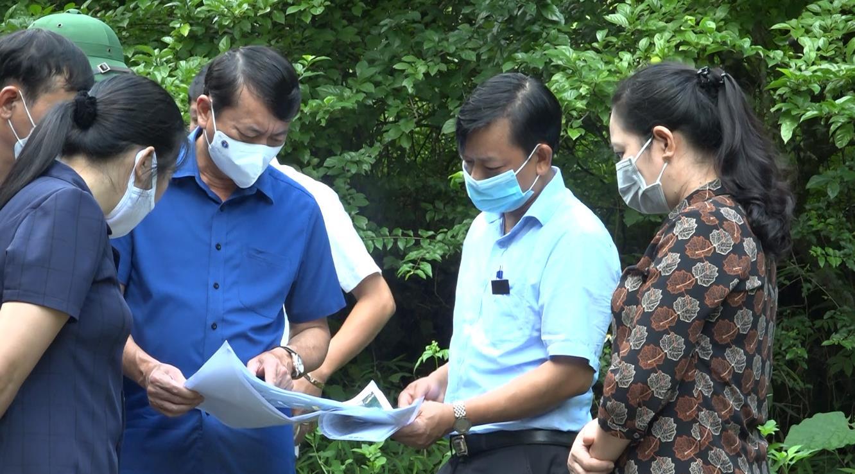 Phó Bí thư Tỉnh ủy, Chủ tịch UBND tỉnh Hoàng Xuân Ánh khảo sát một số công trình, dự án tại huyện Quảng Hòa