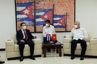 Tăng cường quan hệ giữa Đảng Cộng sản Việt Nam và Đảng Cộng sản Cuba