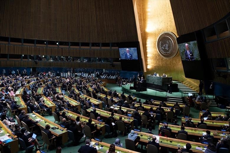 Chủ tịch nước Nguyễn Xuân Phúc dự Khai mạc Phiên thảo luận chung cấp cao Khóa họp thứ 76 Đại hội đồng LHQ