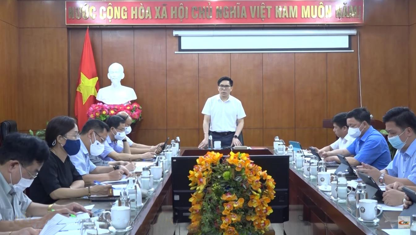 Ban Văn hoá - Xã hội HĐND tỉnh: Họp thẩm tra Dự thảo Nghị quyết về công tác phòng, chống dịch COVID-19