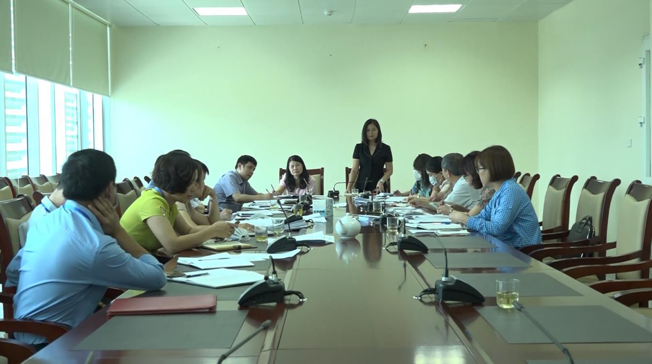 Đoàn kiểm tra công tác cải cách hành chính của tỉnh làm việc với Sở Tài chính