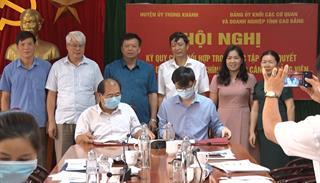 Trùng Khánh: Ký kết quy chế phối hợp học tập nghị quyết và bồi dưỡng lý luận chính trị
