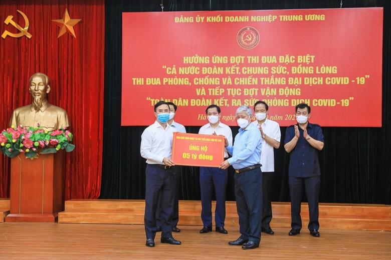 Đảng ủy Khối Doanh nghiệp Trung ương: Gần 36 tỷ đồng ủng hộ phòng chống COVID-19