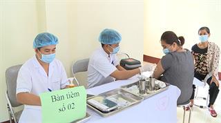 Cao Bằng: Trên 143.000 người đã được tiêm vắc-xin phòng COVID-19