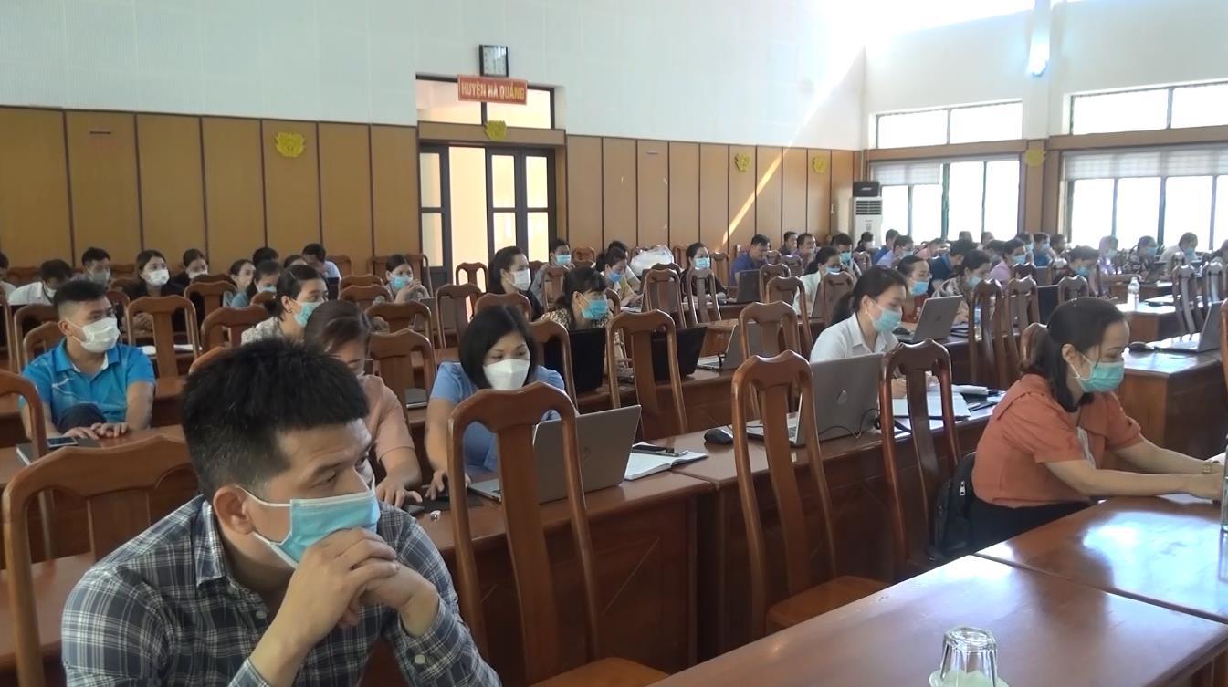 Hà Quảng: Tập huấn chữ ký số chuyên dùng