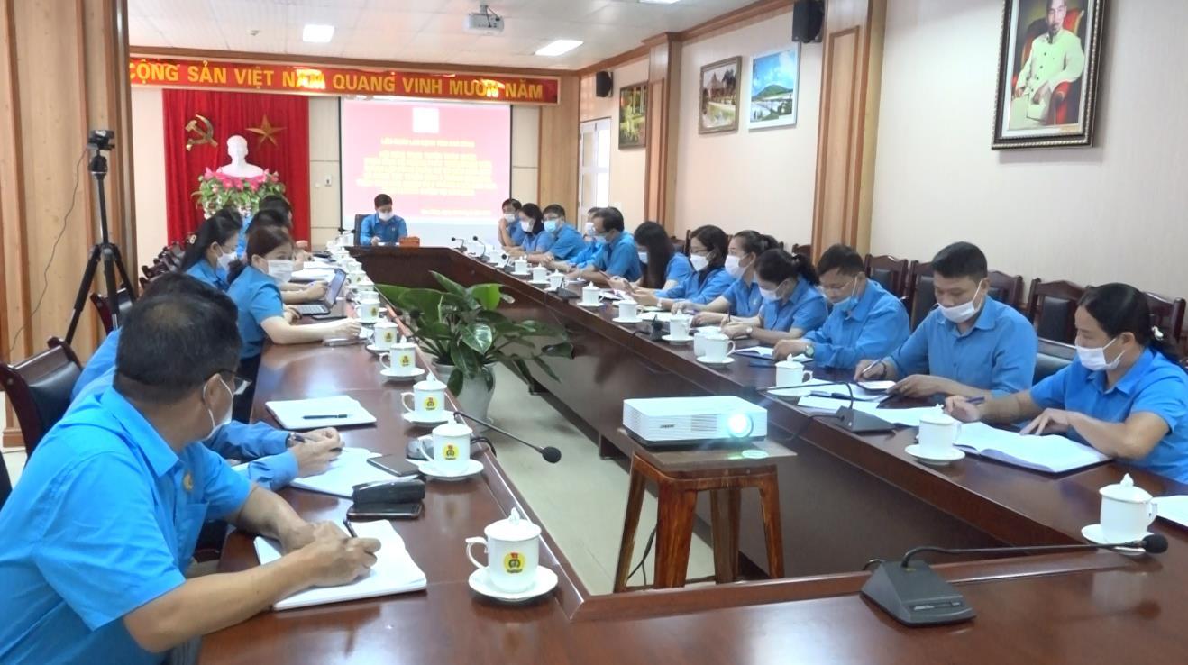 Hội nghị trực tuyến toàn quốc triển khai Kế hoạch phát triển đoàn viên, thành lập công đoàn cơ sở đến năm 2023