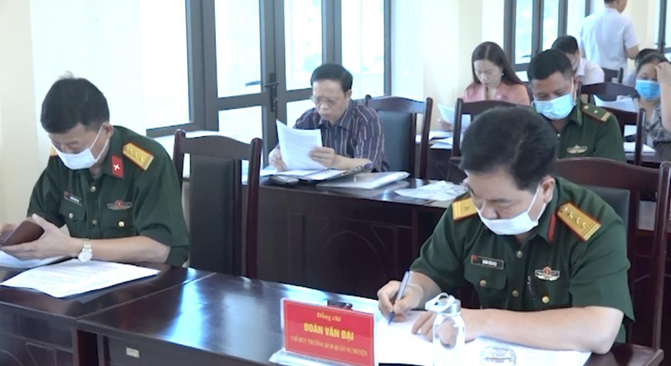 Hạ Lang: Triển khai công tác tuyển quân năm 2022