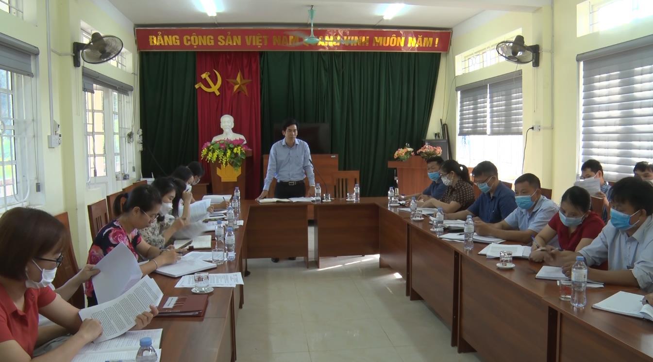 Kiểm tra công tác cải cách hành chính tại huyện Hà Quảng