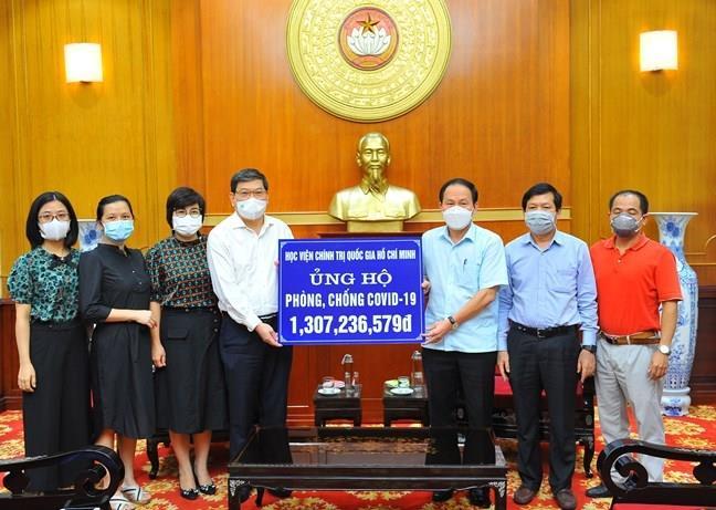 Trên 19.310 tỷ đồng ủng hộ công tác phòng, chống dịch COVID-19