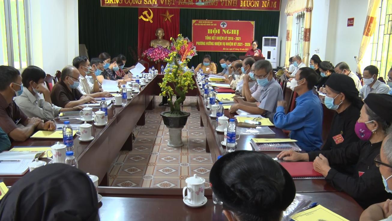 Hội Người cao tuổi huyện Bảo Lạc: Thu hút gần 80% số người cao tuổi trên địa bàn tham gia tổ chức Hội