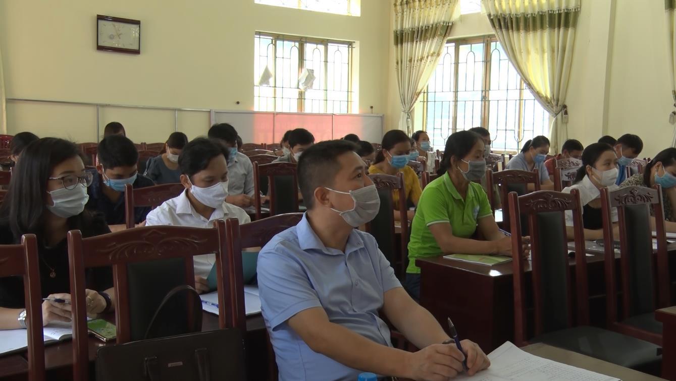 Hà Quảng: Hội nghị tập huấn kỹ năng tuyên truyền, vận động và phổ biến kiến thức pháp luật