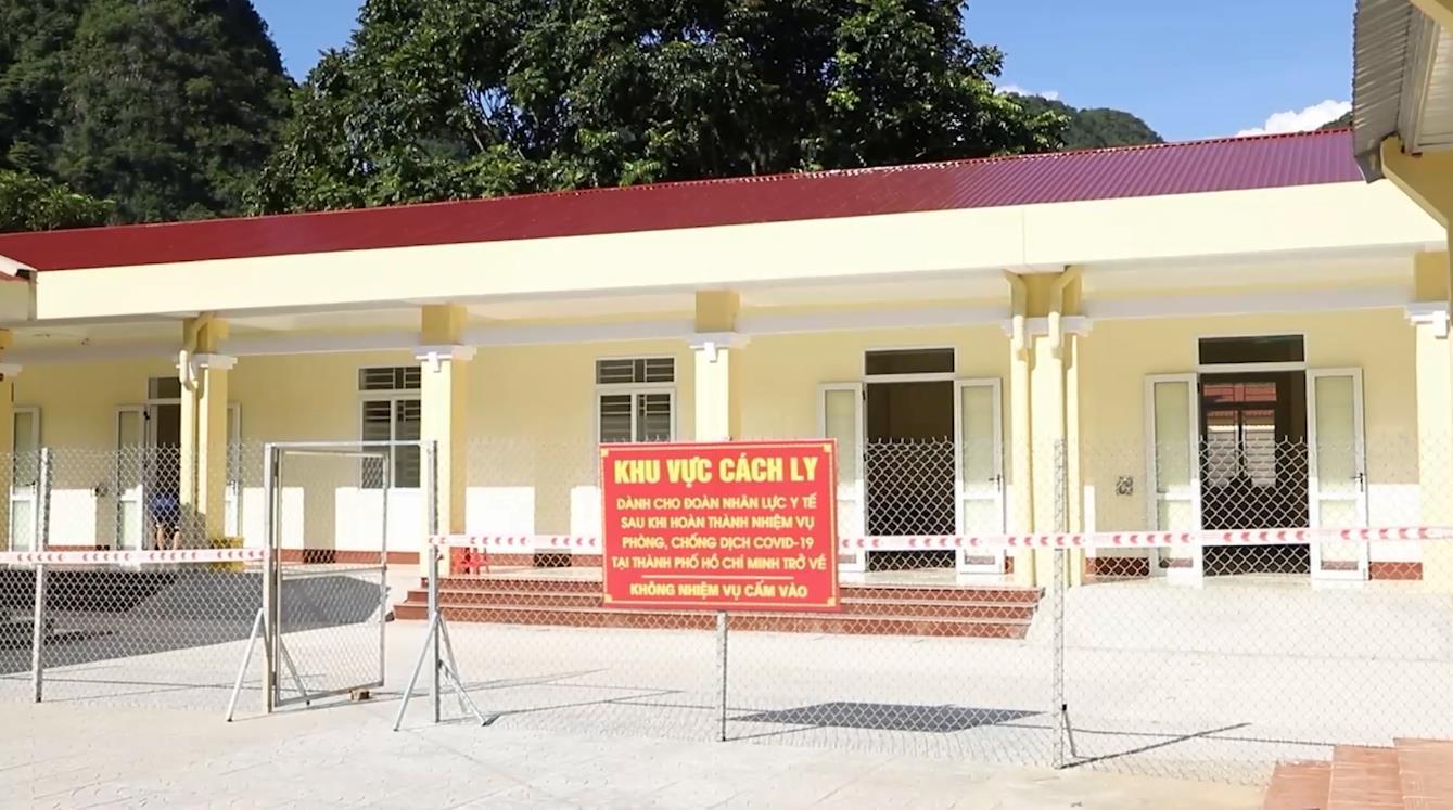 Chuẩn bị tốt các điều kiện đón đoàn nhân lực y tế trở về từ thành phố Hồ Chí Minh