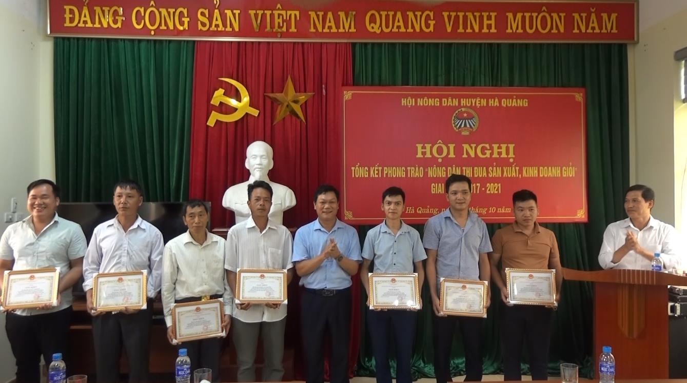 Hà Quảng: Gần 2.000 hộ nông dân đạt danh hiệu sản xuất kinh doanh giỏi các cấp mỗi năm