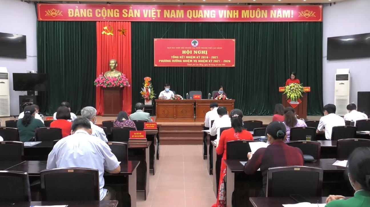 Hội NCT Thành phố Cao Bằng: Thu hút 78,5% người cao tuổi tham gia sinh hoạt hội