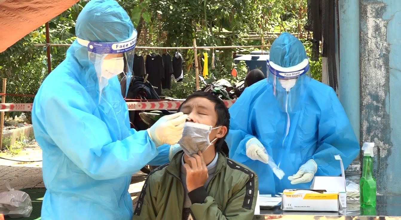 Đảm bảo an toàn trong đón, tiếp nhận công dân từ các tỉnh phía Nam trở về Cao Bằng